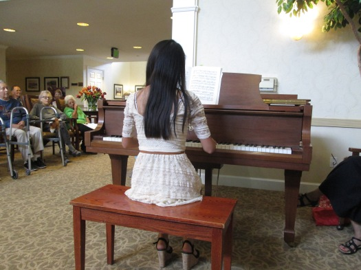 august 2013 girl with piano