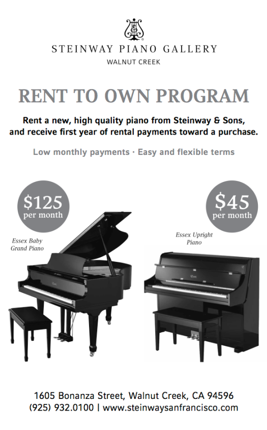 Steinway Rent to Own Program