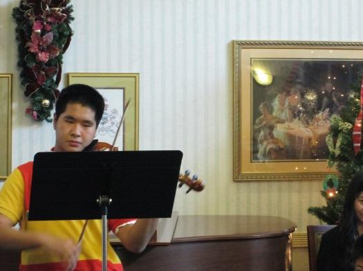 sunrise december 2012 performance jared violin