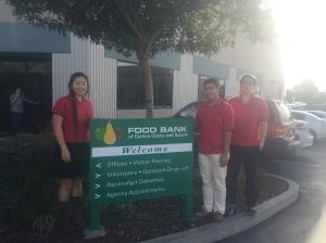 MSSL at the Food Bank